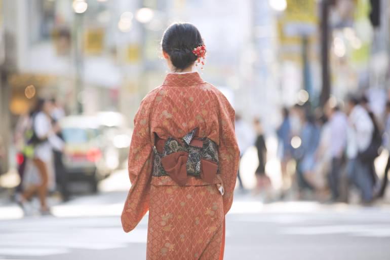 Kimono in Tokyo.