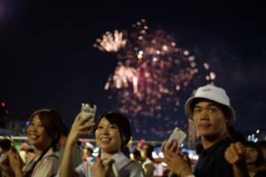 Sumidagawa Fireworks View