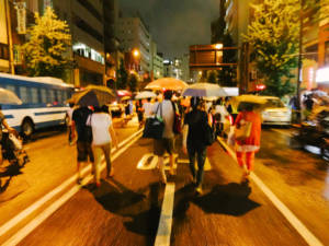 Sumidawgawa Fireworks Walk Home