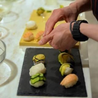 Temari Sushi Class & Sake Tasting
