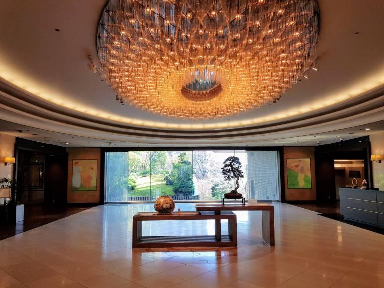 Hotel Chinzanso Lobby