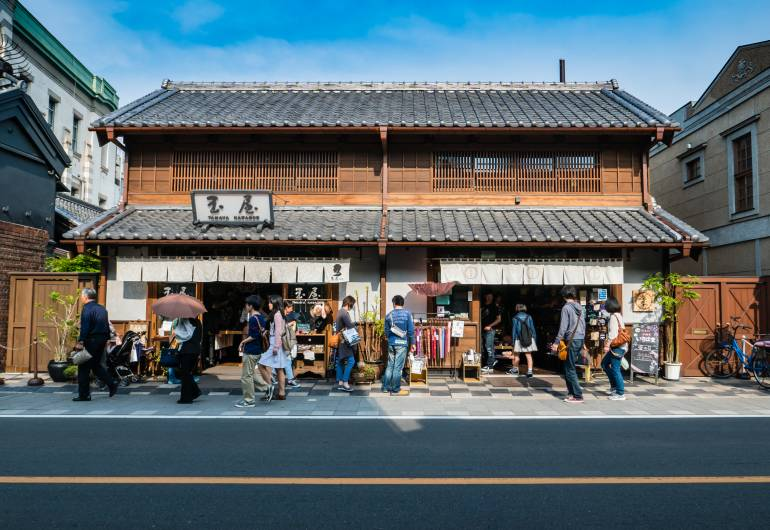 Kawagoe traditiona buildings