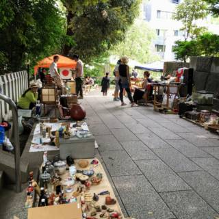 Nogi Shrine Antique Market