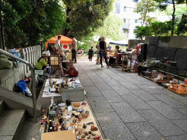 Nogi Shrine Antique Market, 27th Jan, 2019