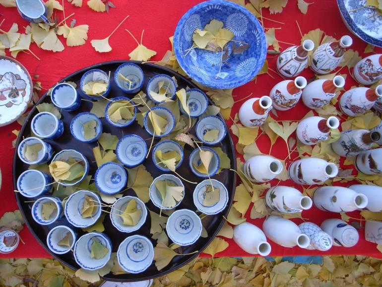 tokyo flea market ceramics