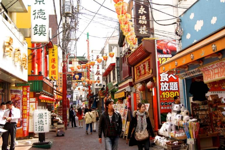 ethnic neighborhoods in Tokyo