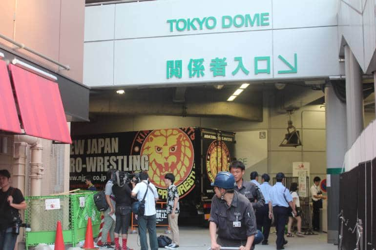 japan pro wrestling venue