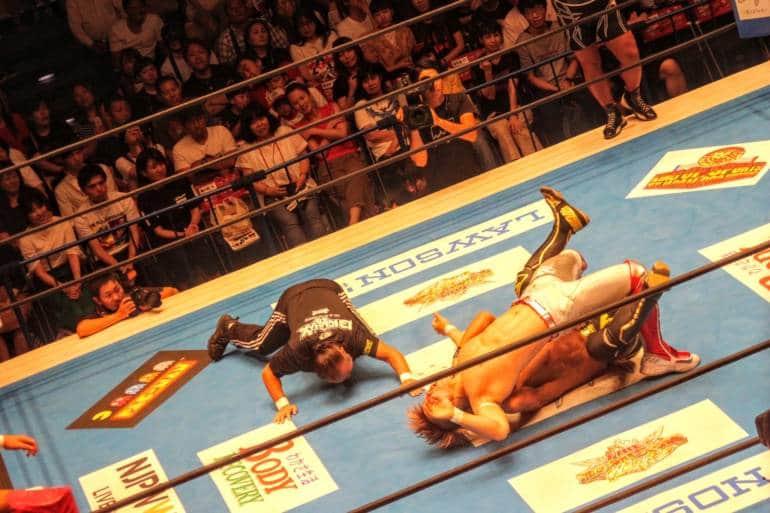 japan pro wrestling