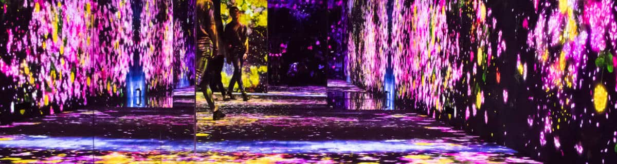 Mori Building Digital Art Museum: A Multi-Sensory Experience