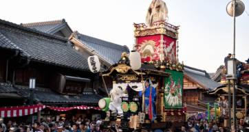 kawagoe mikoshi float tokyo events october