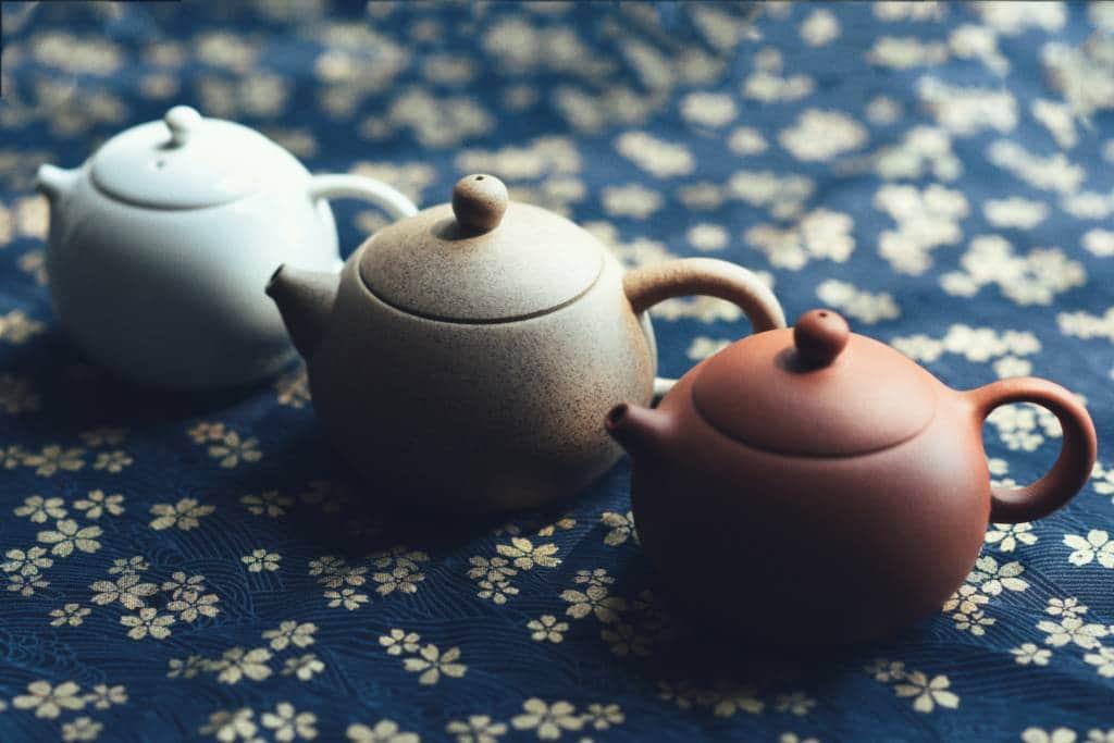 Japanese antiques tea pots