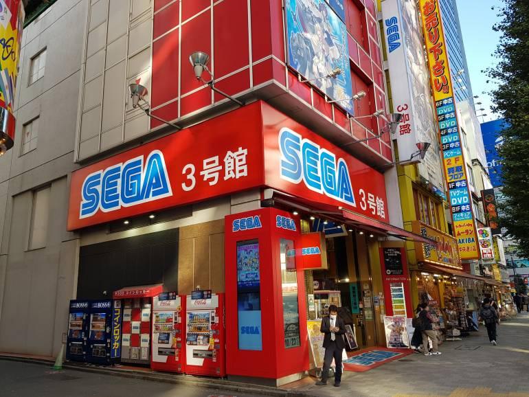 Sega Number 3 Entrance