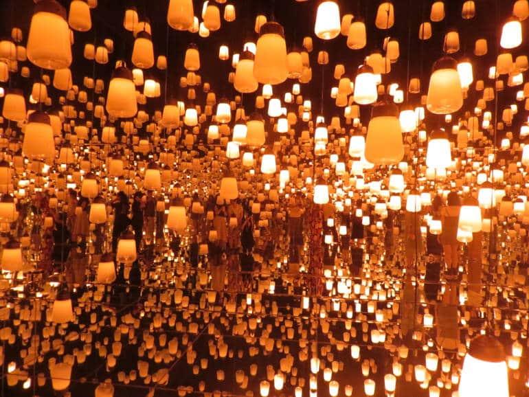 Digital Art Museum Tokyo - teamLab Forest of Lamps