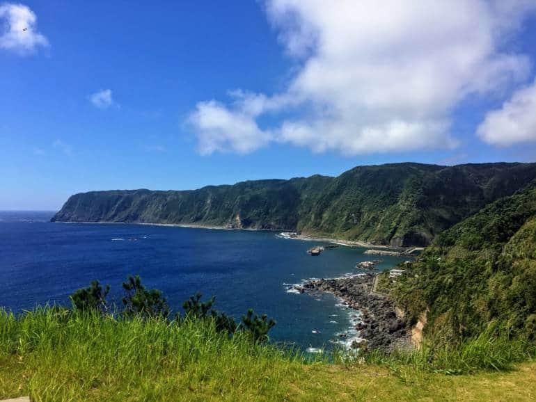 View from Miharashi no yu