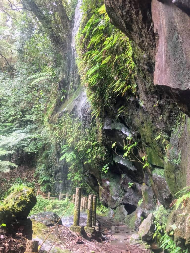 Hachijojima waterfall