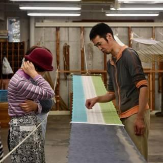 Kimono Fabric Dyeing Tour