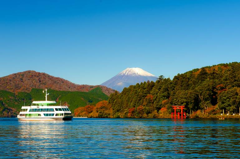View of Fuji from Hakone