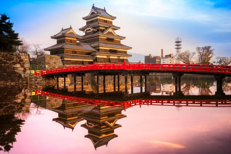 Japan castles