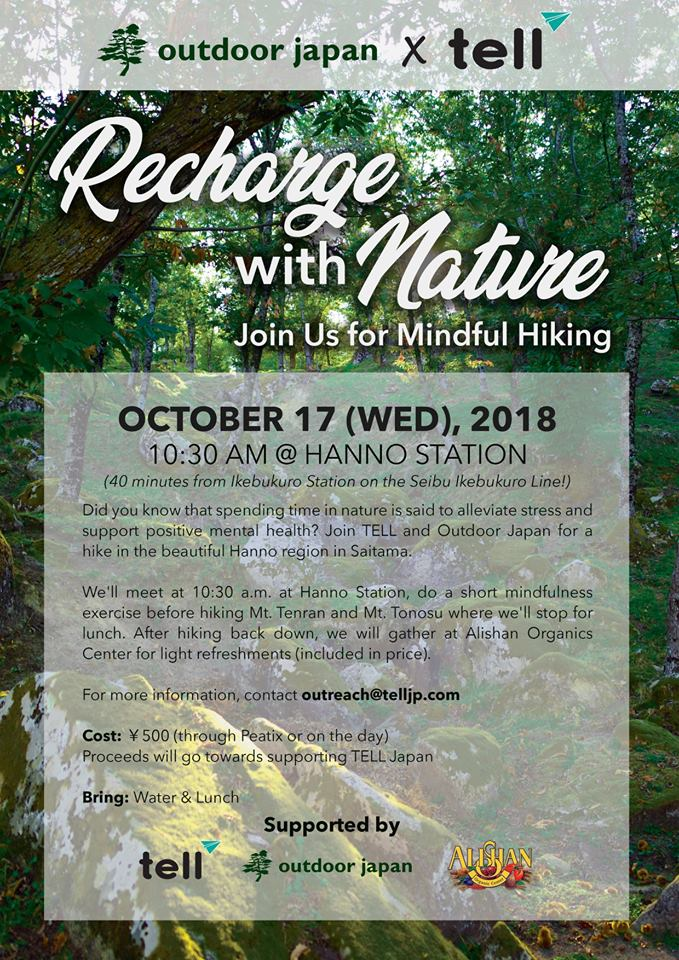 recharge with hiking