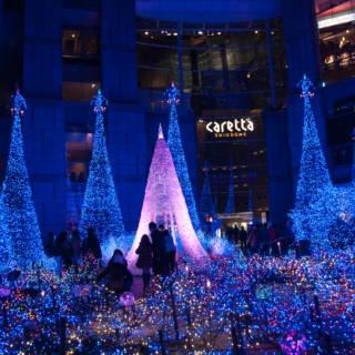 Caretta Shiodome Winter Illumination 2021