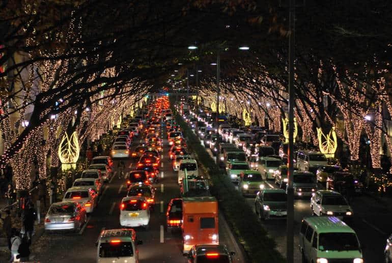 omotesando tokyo winter illuminations