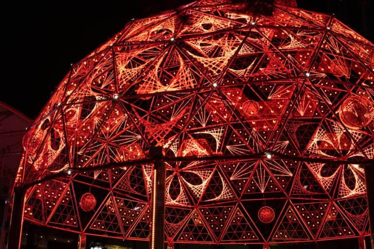 tokyo dome winter illuminations