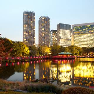 Attractions in Shiodome