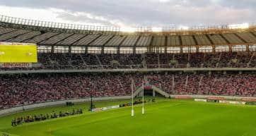 Rugby posts Tokyo Stadium