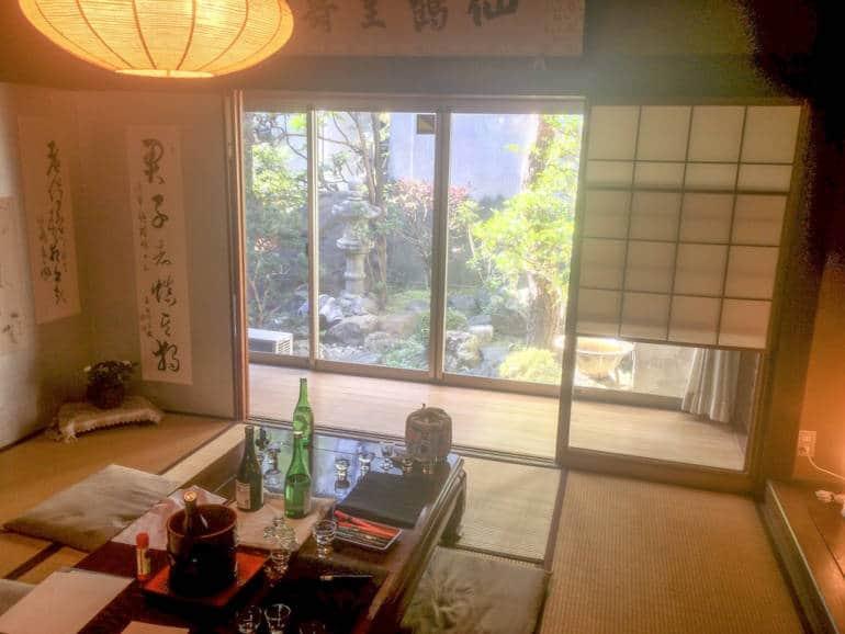 Hananomai Sake Tasting in Hamamatsu