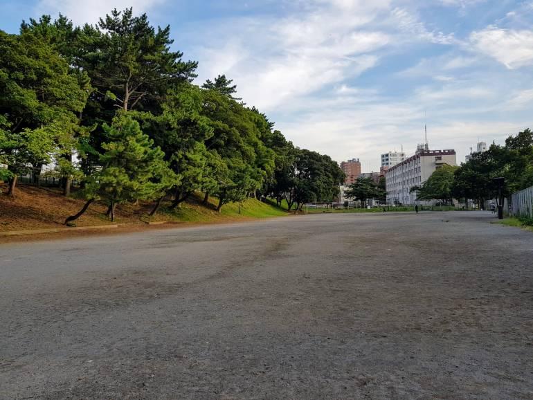 Aoyama Park space
