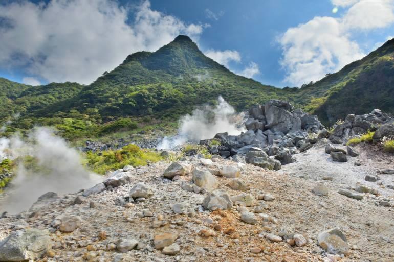 Hakone hot springs