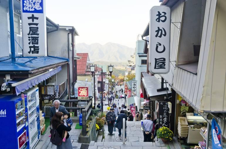 Ikaho Gunma onsen town
