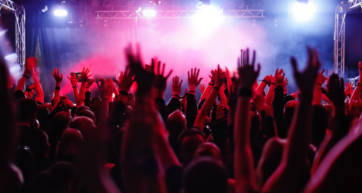 Generic rock concert for download festival