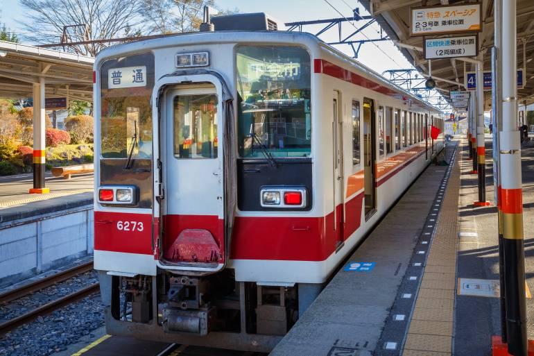 Tokyo to Nikko train