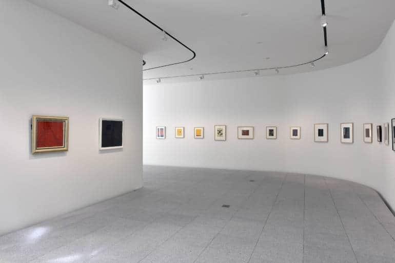 Artworks at the Yayoi Kusama Museum