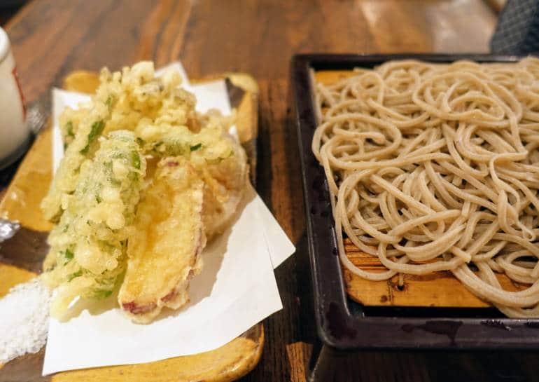 tempura restaurants in tokyo