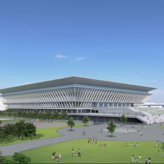 Tokyo Olympic Aquatics Center