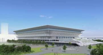 Olympic Aquatics Centre Tokyo 2020