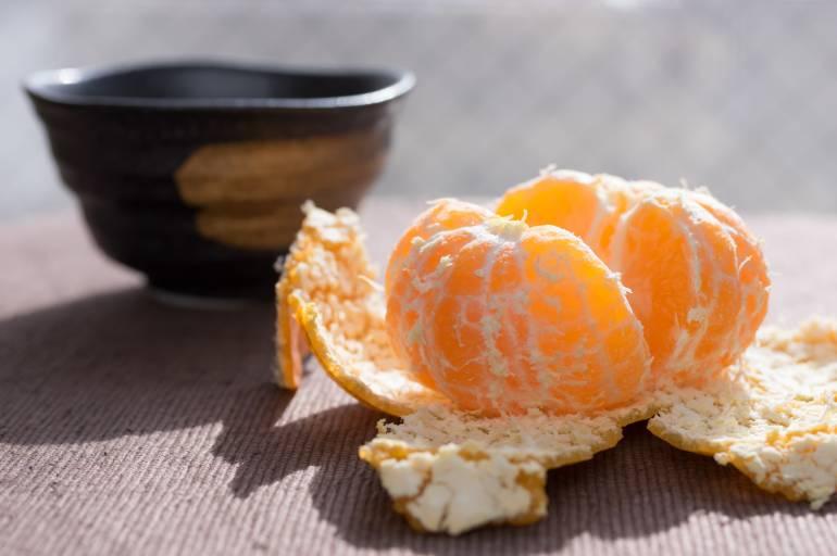 Mikan (mandarin orange) is a Japanese winter fruit