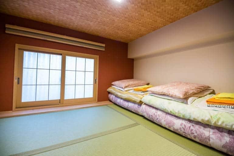 komatsu ryokan tokyo room