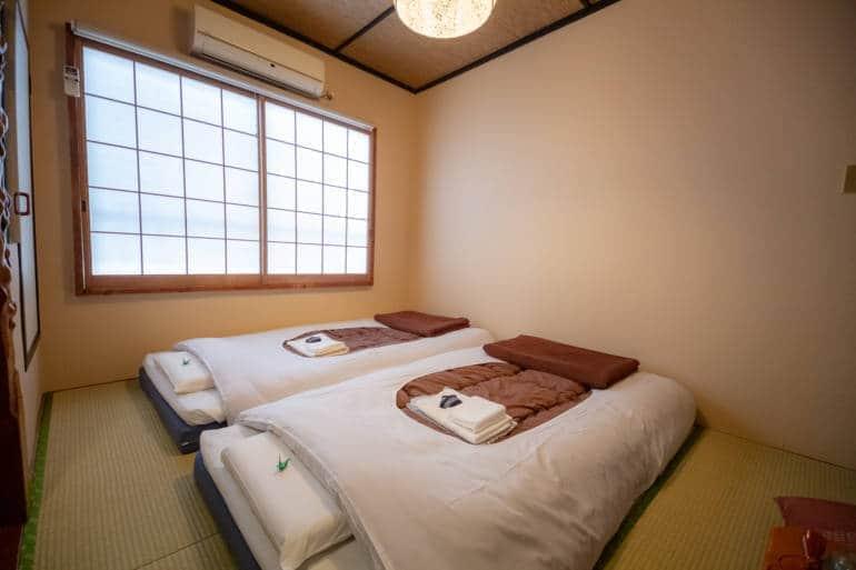 tokyo ryokan sawanoya room