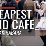 Cheapest Maid Cafe in Akihabara