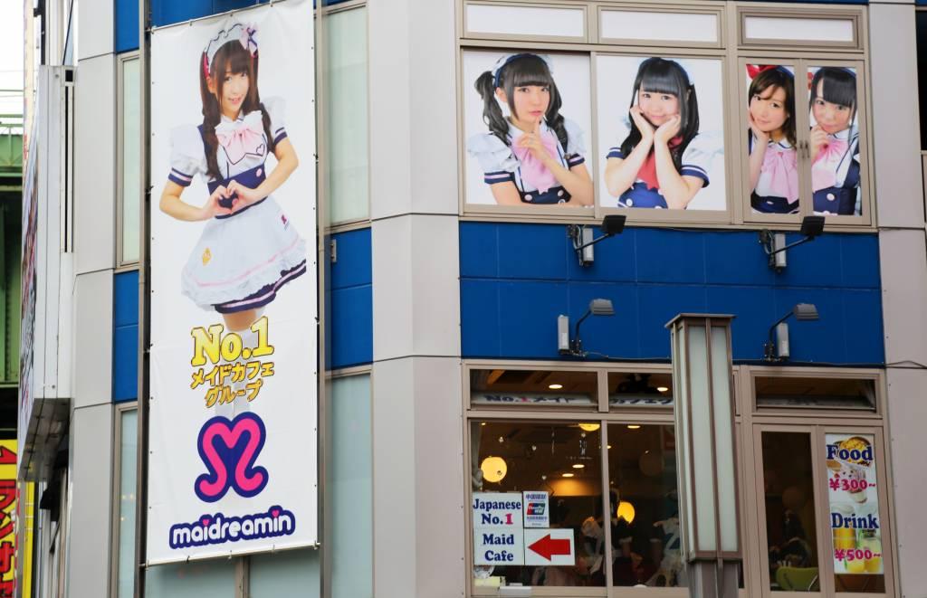 Maidreamin Akihabara tokyo maid cafes