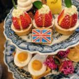 Afternoon Tea Captain Cooke's Flag