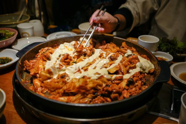 Korean food Shin Okubo