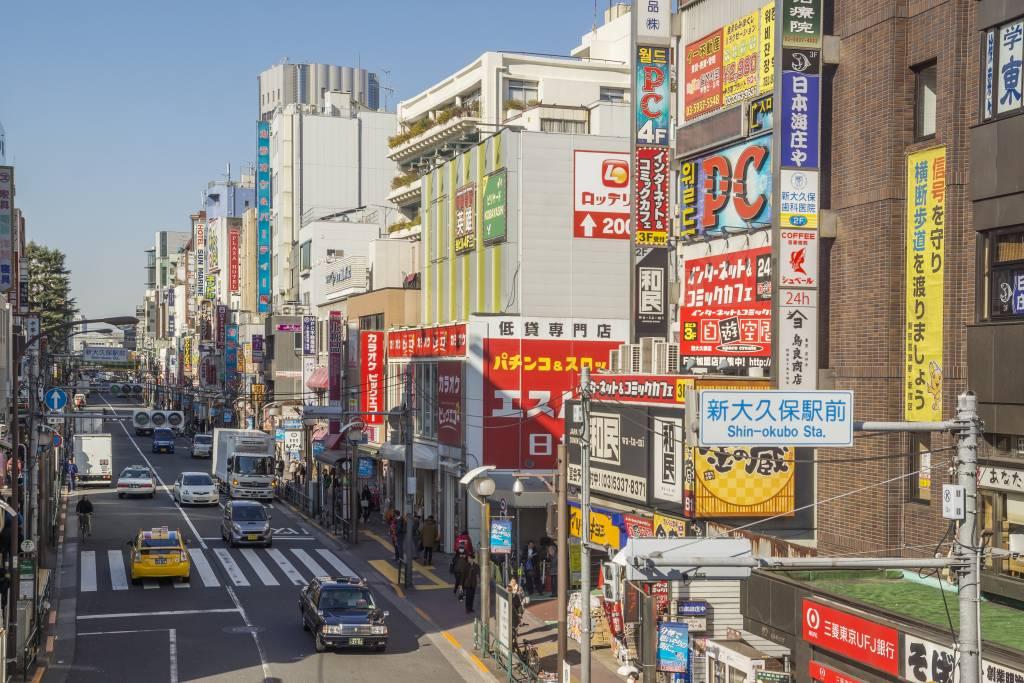 Tokyo koreatown