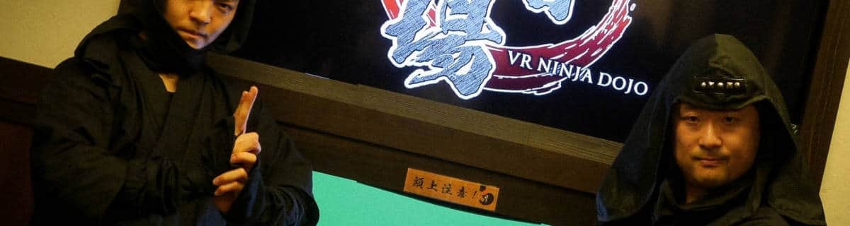 Step into the Shadows with the Real Ninja VR Experience in Edo