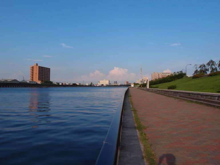 Arakawa River Tokyo