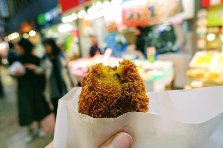 Kanazawa Omicho Market Lunch