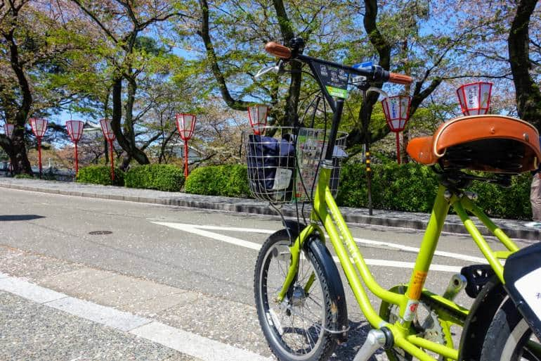 Machinori Bike Kanazawa, best option for getting around when following this Tokyo to Kanazawa itinerary